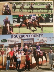 Winners' Circle photo example